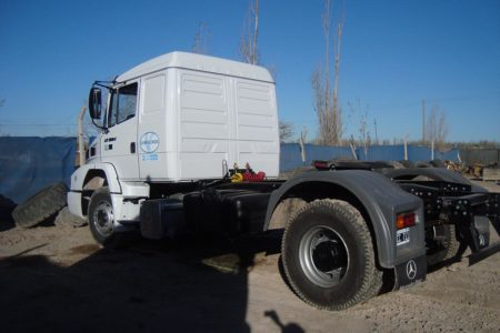 Tracker Mercedes Benz ATRON 1634 S 45