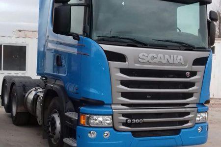 Tracker SCANIA G360 A6X2