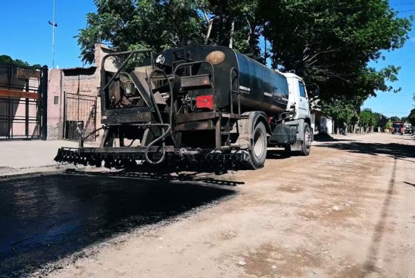 Asfaltado calle Corrientes